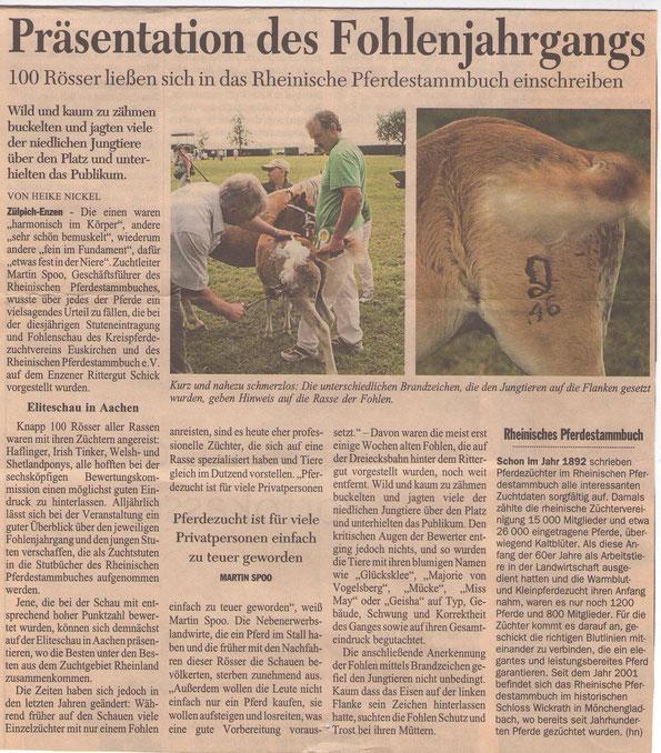 12.Juli 2006 Kölner Stadt Anzeiger