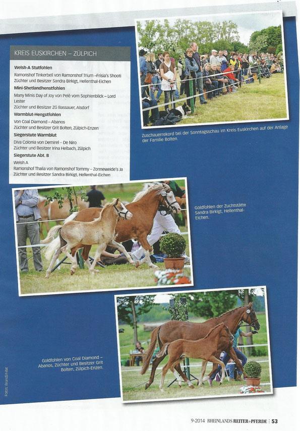 Rheinlands Reiter & Pferde September 2014