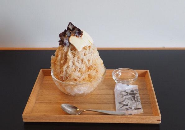 スペシャルティコーヒーシロップ&ゼリー+特製小倉あん+バニラのスペシャル!