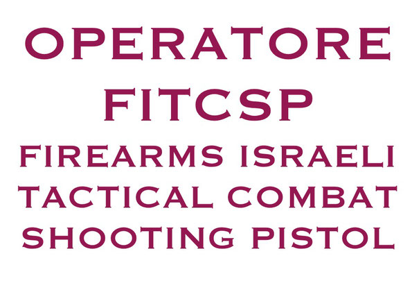 OPERATORE FITCSP Firearms Israeli Tacrical Combat Shooting Pistol