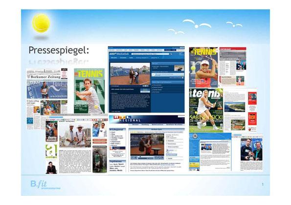 Die Borkum Open 2011 in den Medien...