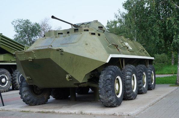 Колесный бронированный транспортер БТР-60ПБ. Фото Анны Завьяловой