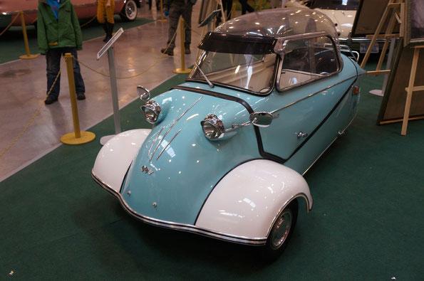 Messerschmitt KR200. Год выпуска 1959. Двигатель Fichtel & Sachs 200 AZL-R, 6-цилиндровый, 191-кубовый, мощностью 10л.с.