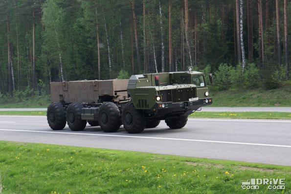 Шасси МАЗ-543М. Трасса М1. 15.05.2013