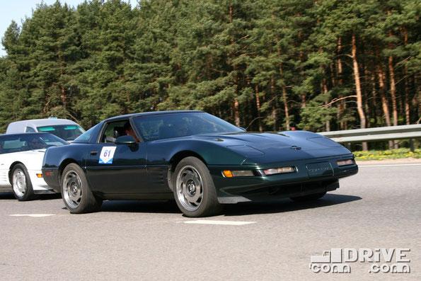Chevrolet Corvette С4 LT1. Двигатель объемом 5,7 литра