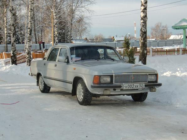 Седан ГАЗ-3102. с. Дивеево. 18/12/2011