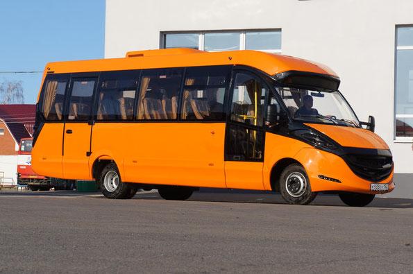 Туристский автобус особо малого класса Intech 22501B-01 Fox («Лиса») на шасси IVECO Daily 70С15