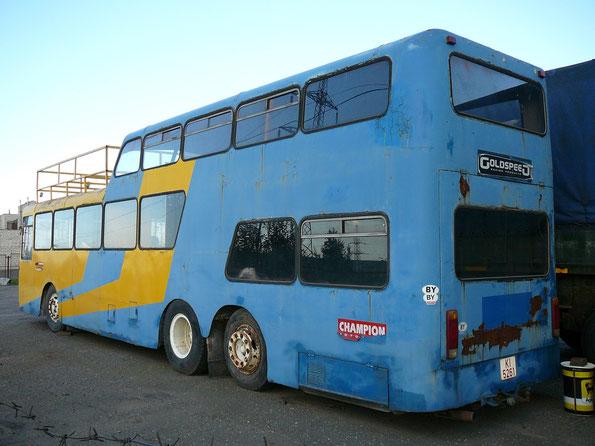 Автобус Ludewig Aero 1 на шасси MB O317. Вскоре после съемки исчез в неизвестном направлении Минск. 02.08.2007