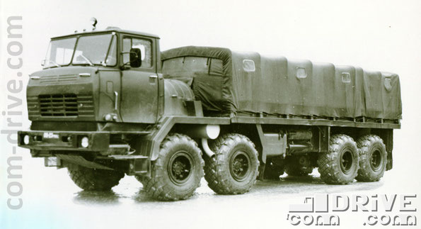 КРЕМЕНЧУГСКИЙ АВТОМОБИЛЬНЫЙ ЗАВОД. КрАЗ-6316 - автомобиль многоцелевого назначения типа 6х6. Количество модификаций базовой модели: 1
