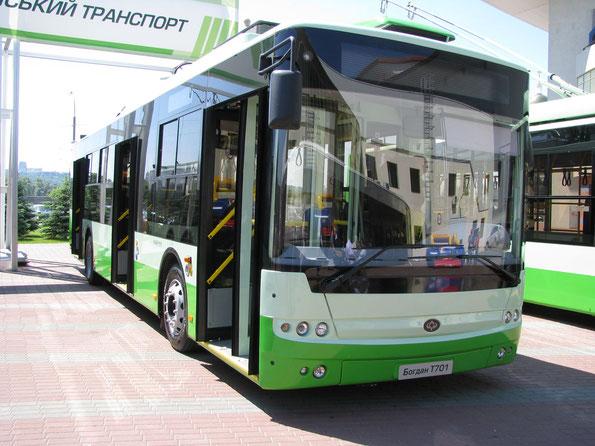 Троллейбус Богдан T70115. TIR-2010. Фото Ольги Москалевой