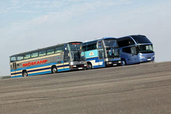 Поколения автобусов Neoplan Cityliner. Фото фирменное