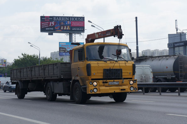 Седельный тягач TATRA T815 N 4Х4.1 с КМУ Unic. 24.06.2013