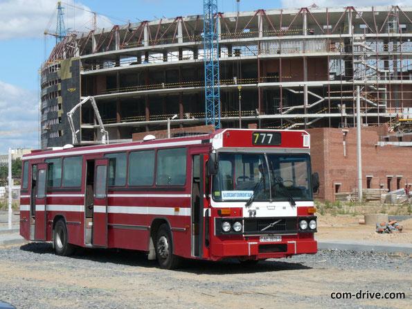 Городской автобус Saffle на шасси Volvo B10M-60. Минск. 28.07.2008