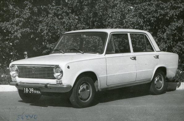 Легковой автомобиль Fiat-124. Фото архивное.