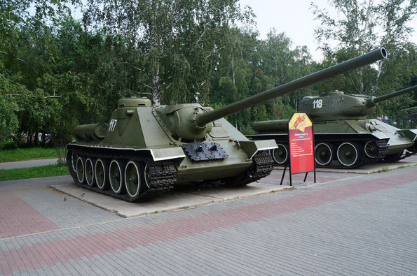 Самоходная установка СУ-100. Фото Анны Завьяловой