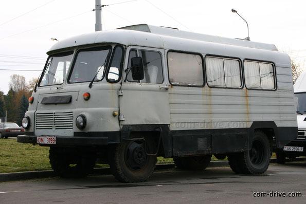 Автобус Robur LD 2002 AFR-6B. Минск. 23.10.2011. Фото Сергея Филиппова