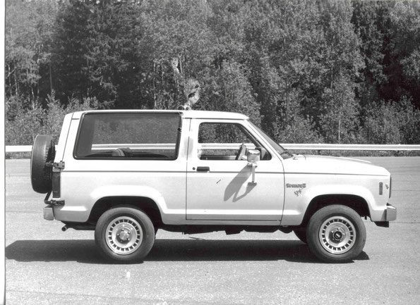 Ford Bronco II. Фото архивное