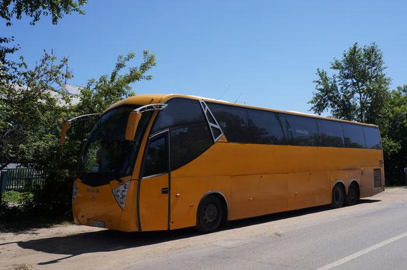 Туристический автобус Ayats Atlantis на шасси MAN. Дивеево. 23.06.2012