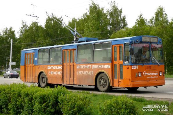 Троллейбус ЗИУ-682Г (Г00). Рязань. 23/05/2009