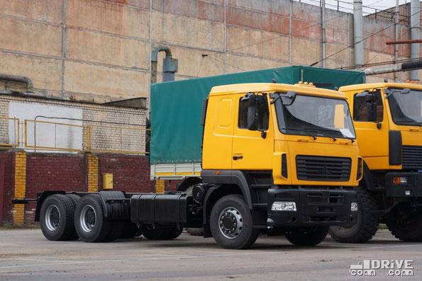 """Шасси МАЗ-631208 с кабиной """"мод. 5440"""". МАЗ. 07/08/2012"""