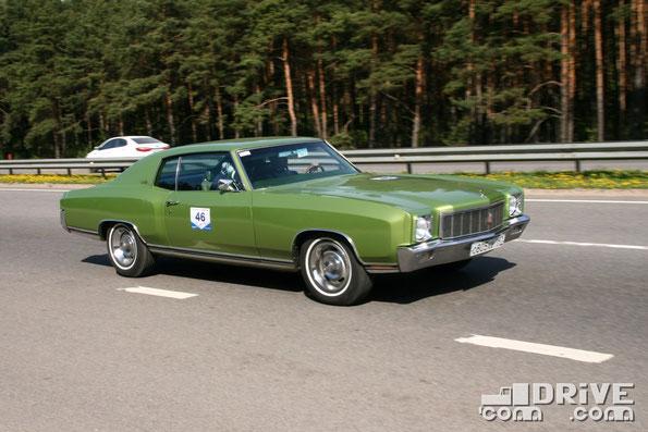 Chevrolet Monte Carlo. Двигатель объемом 5,7 литра