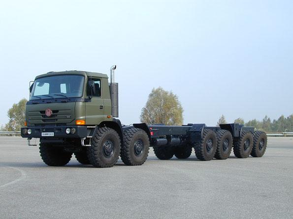 Армейское шасси TATRA T816 6MW R8T 12х12.1. Фото фирменное
