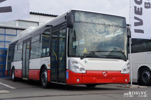 Городской автобус Irisbus Citelis 12M CNG. Габариты 11 990х2500х3301 мм. Двигатель - IVECO CURSOR 8 CNG EEV, I-6, вертикальный, мощностью 245 или 290 л.с. Предназначен для работы на газовом топливе – метане
