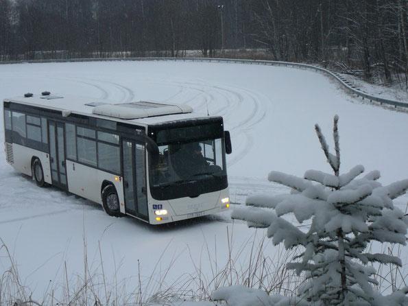 """Производитель: MAN Nutzfahrzeuge AG (Анкара, Турция). Модель: MAN Lion's City A78 EL283. Начало продаж: 2010 г. Автобус на тест предоставлен ООО """"МАН Автомобили Россия""""."""