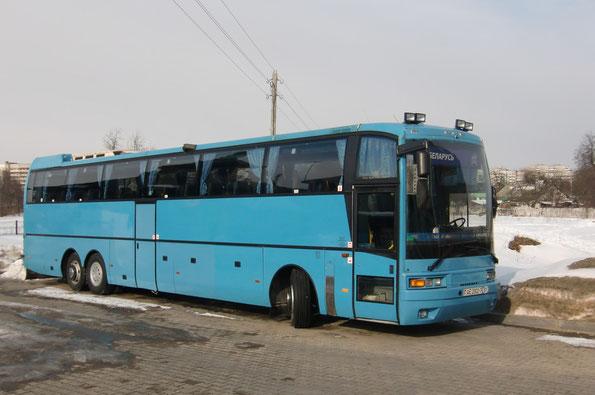 Туристический автобус Ikarus E98 HD (6х2). Минск. 09.03.2010