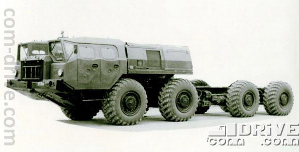 МИНСКИЙ АВТОМОБИЛЬНЫЙ ЗАВОД. МАЗ-543 - полноприводное колесное шасси типа 8х8. Количество объектов вооружения, базирующихся на данном семействе: 108