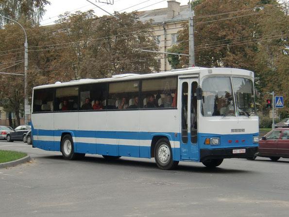 Междугородный автобус Smit Euroliner (на DAF SB 2005). Минск.10.09.2010
