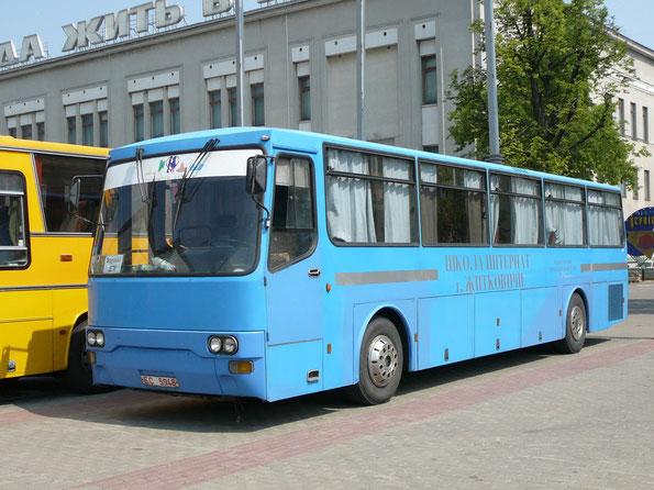 Междугородный автобус Dalla Via на шасси IVECO-370.12.25. Минск. 16/06/2007