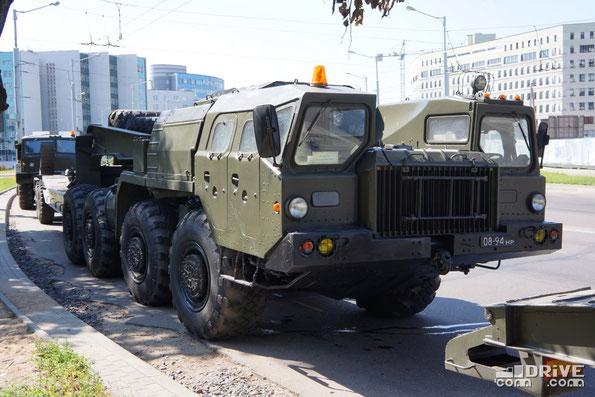 Седельный тягач МАЗ-7410. Минск. 03.07.2013