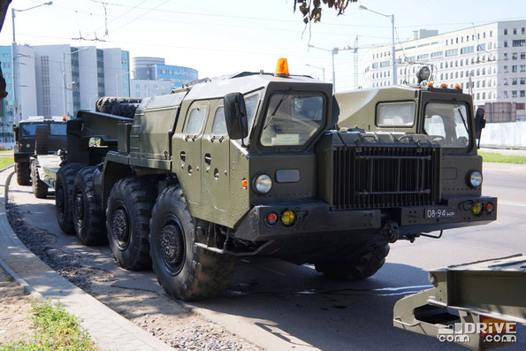 Седельный тягач МАЗ-7410. Минск. 03/07/2013