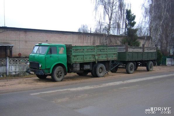 МАЗ-500. Минск. 11.12.2007. Фото Филиппова Сергея