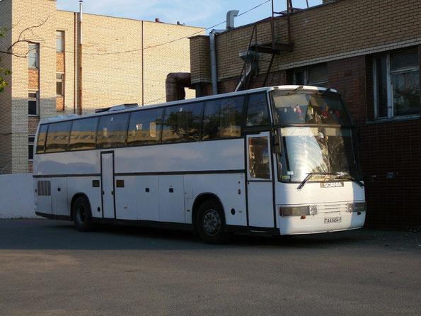 Туристический автобус Delta Star 50 на шасси Scania K112. Минск. 20/08/2008