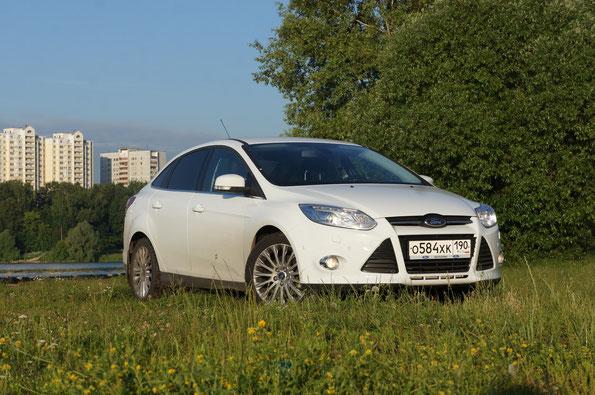 """Производитель: ЗАО """"Форд Мотр Компани"""". (г.Всеволжск). Модель: Ford Focus 2.0 (MXXEEB), комплектация Titanium. Автомобиль на тест предоставлен ООО """"Форд Соллерс Холдинг"""""""