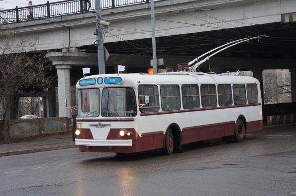 """Троллейбус """"Завода имени Урицкого"""" - ЗИУ-5Г, 1966 года"""