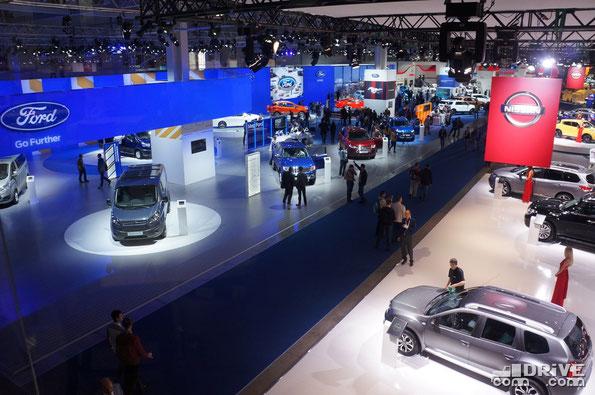 Московский международный автомобильный салон ММАС-2014