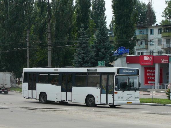 Городской автобус большой вместимости Carrus K204 City L на шасси Volvo. Кременчуг. 14/07/2009