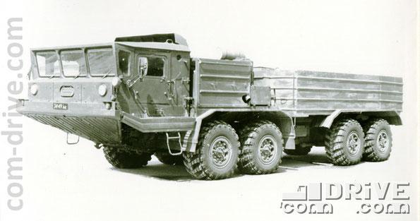 БРЯНСКИЙ АВТОМОБИЛЬНЫЙ ЗАВОД. БАЗ-69501 - полноприводное колесное шасси типа 8х8. Количество объектов вооружения, базирующихся на данном семействе: 4