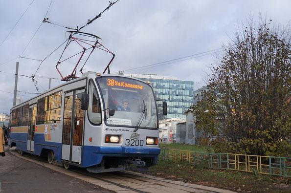 Трамвай 71-405-80. Москва. 13.11.2012
