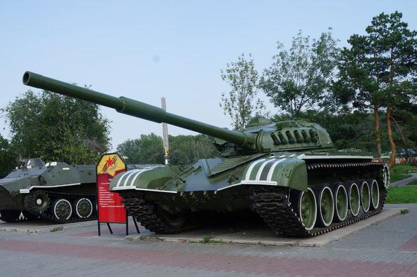 Основной танк Т-72. Фото Анны Завьяловой