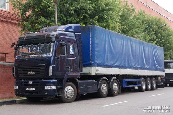 Седельный тягач МАЗ-6430. МАЗ. 07.08.2012