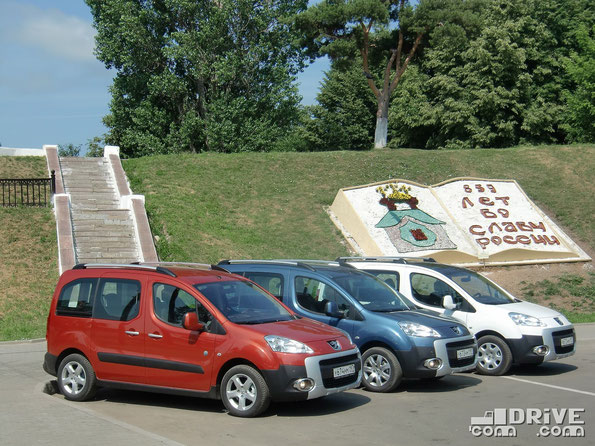 Peugeot Partner Tepee Outdoor. Кострома. 05/07/2011