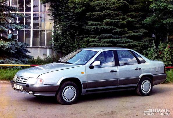 Седан ГАЗ-3104. 1988 год.