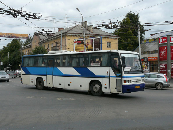 Междугородный автобус Ikarus 253.52. Рязань. 08.08.2008