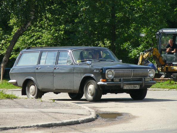 Универсал ГАЗ-24-02.Серийный образец. Минск. 17.06.2009