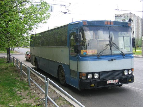 Междугородный автобус Delta 300 на шасси Volvo. Минск. 15.05.2006