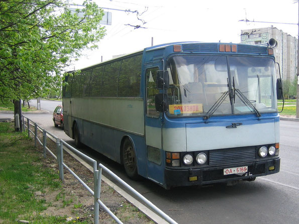 Междугородный автобус Delta 300 на шасси Volvo. Минск. 15/05/2006